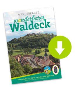 Wanderkarte Waldeck